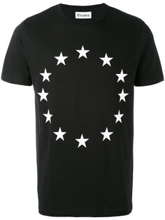 Europe flag print T-shirt Études