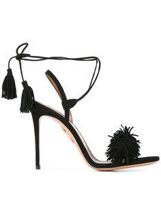 босоножки со шнуровкой Aquazzura