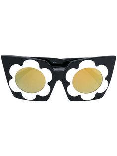 солнцезащитные очки с цветочным дизайном Markus Lupfer