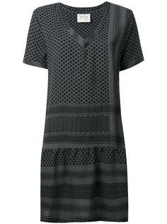 платье с короткими рукавами и V-образным вырезом Cecilie Copenhagen