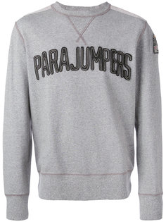 толстовка с логотипом-нашивкой Parajumpers