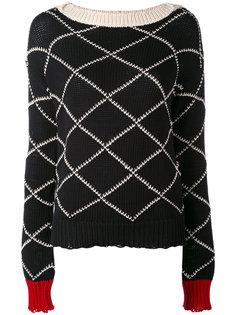 свитер в ромб Wunderkind