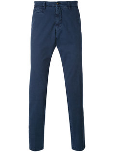брюки чинос кроя слим Briglia 1949