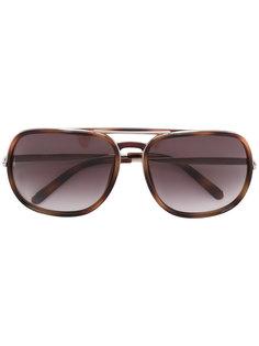 солнцезащитные очки в объемной оправе Chloé