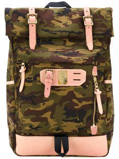 рюкзак с камуфляжным узором Master Piece