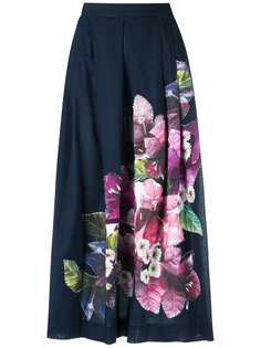 floral patch A-line skirt Isolda