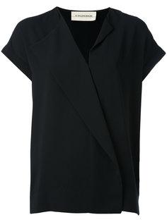 блузка с V-образным вырезом By Malene Birger