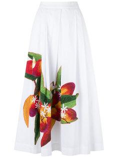А-образная юбка с цветами Isolda