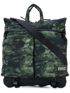 сумка с камуфляжным узором Master Piece