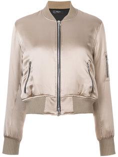 silk bomber jacket Amiri
