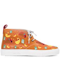 ботинки на шнуровке Del Toro Shoes