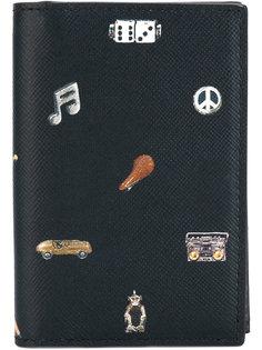 кошелек с комбинированным принтом Paul Smith