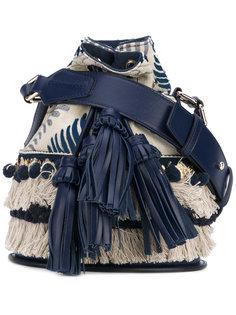 сумка-мешок с кисточками Santoni