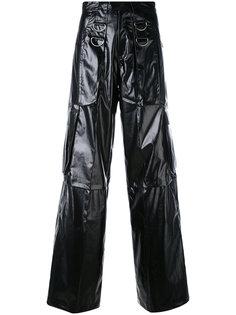 расклешенные брюки с карманами Misbhv