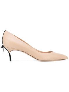 туфли с бантиками сзади Casadei