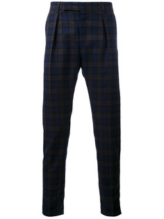 брюки прямого кроя Paul Smith