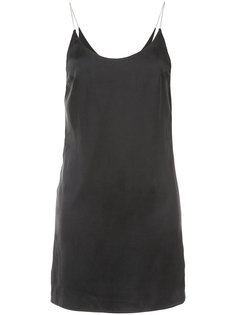 low scoop chain slip dress Amiri