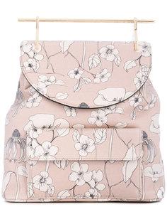 рюкзак с цветочным принтом M2malletier
