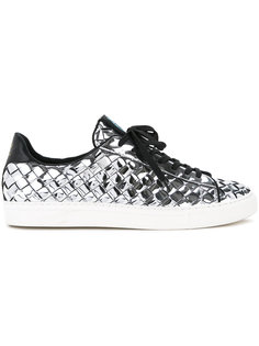 metallic woven sneakers Guild Prime