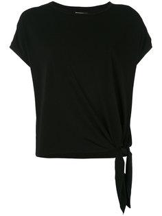 футболка с завязками на подоле By Malene Birger