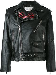 декорированная куртка Love Blade Valentino