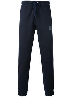 спортивные брюки с нашивкой Fendi