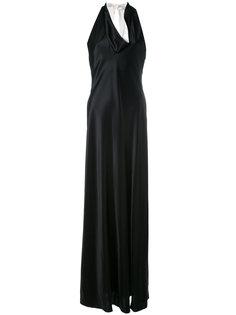 вечернее платье с открытой спиной Lanvin