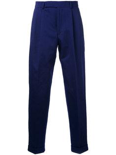 брюки с двойными защипами Paul Smith