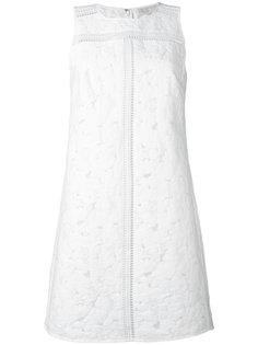 платье-шифт с вышивкой Michael Michael Kors