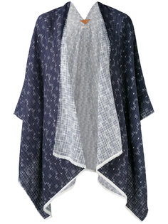 geometric print open jacket Ermanno Gallamini