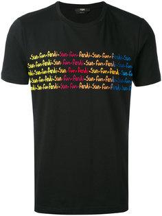 футболка с принтом Fendi Sun  Fendi