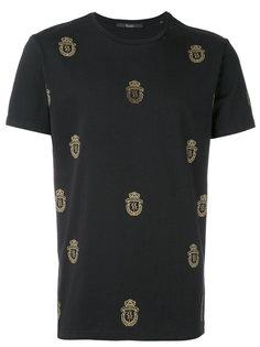 футболка с принтом логотипа Billionaire