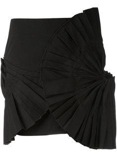 плиссированная мини-юбка  Jacquemus