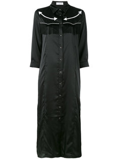 длинное платье-рубашка Gaelle Bonheur