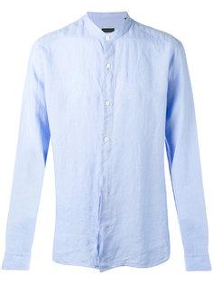 рубашка с воротником-мандарин Z Zegna
