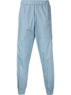 клетчатые спортивные брюки с логотипом Astrid Andersen