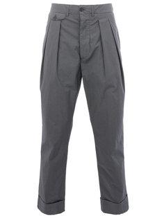 классические брюки прямого кроя Wooster + Lardini