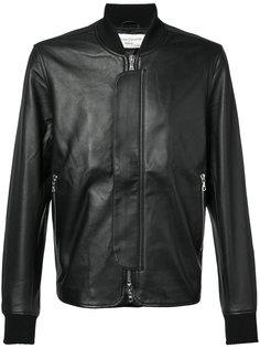кожаная куртка-бомбер Officine Generale