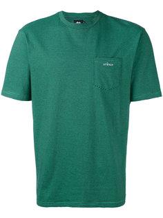 футболка с нагрудным карманом Stussy