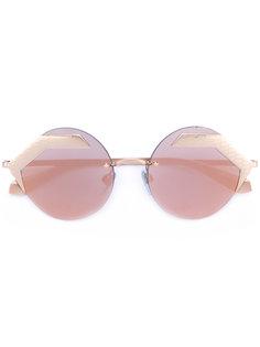 солнцезащитные очки без оправы Bulgari