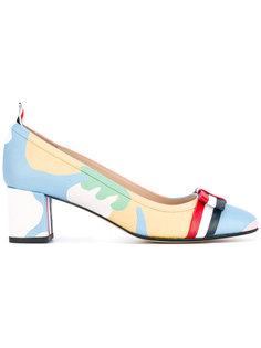 камуфляжные туфли с бантом Thom Browne