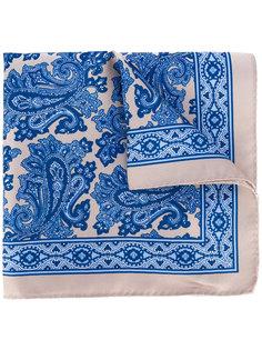 платок с цветочным принтом Borrelli