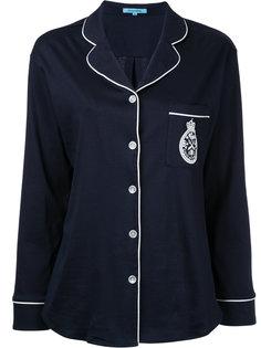 блузка с контрастной отделкой Guild Prime