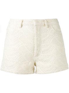 шорты с вышивкой Iro