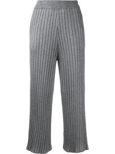 укороченные брюки в рубчик Loveless