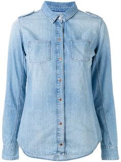 джинсовая рубашка кроя слим Calvin Klein Jeans