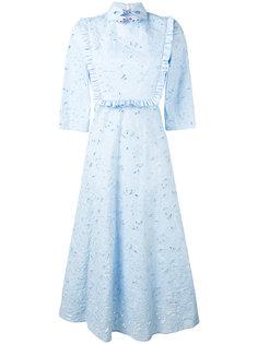 платье-рубашка с вышивкой Vivetta
