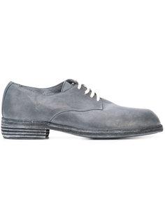 асимметричные ботинки дерби Guidi