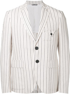 striped blazer Andrea Pompilio
