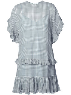ruffled trim dress Zimmermann